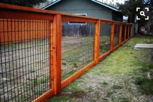 This Fence Is A Combo Of Diffe Materials And Not Limited To You See In The Picture It Can Be Built With No Climb Wire Fabric Beef Panels Hog